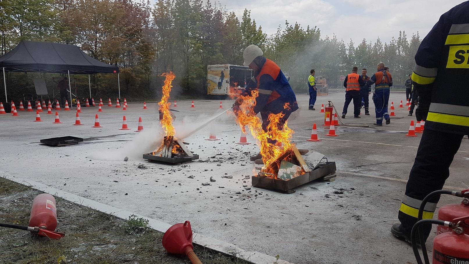 Strefa gaszenia ognia